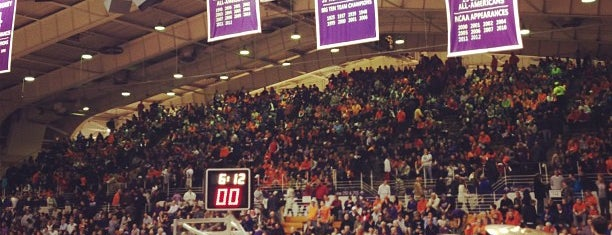 Welsh-Ryan Arena is one of Sporting Venues To Visit.....