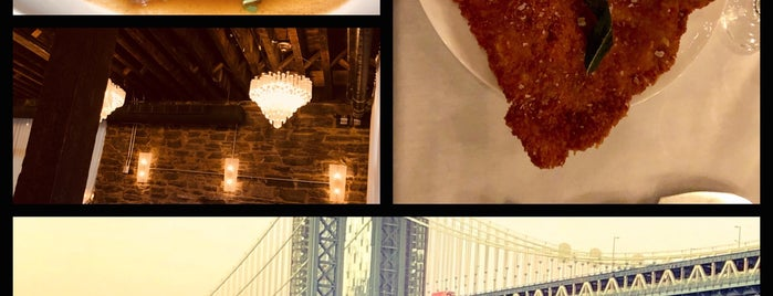 Cecconi's Dumbo is one of The 15 Best Italian Restaurants in Brooklyn.