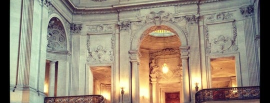 San Francisco City Hall is one of Eat, Drink & Enjoy San Francisco.