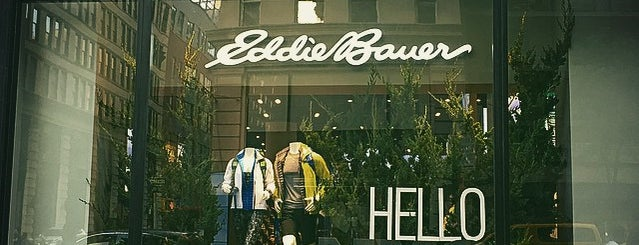 Eddie Bauer is one of NYC - Stores.