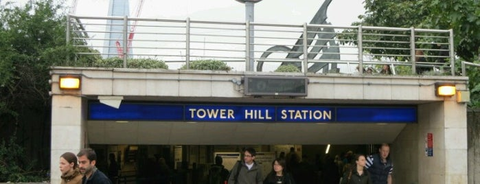 Tower Hill London Underground Station is one of District Line.