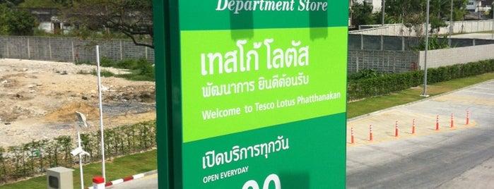 Tesco Lotus is one of Bangkok.