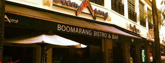 Boomarang Bistro & Bar is one of Micheenli Guide: Uncommon cuisines in Singapore.