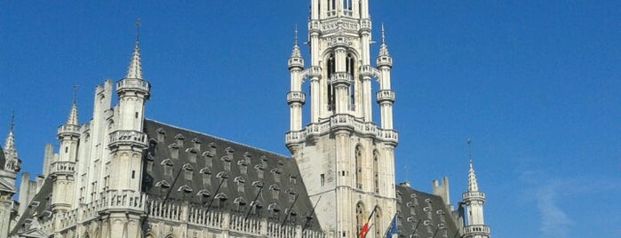 Hôtel de Ville de Bruxelles is one of Bruxelle.