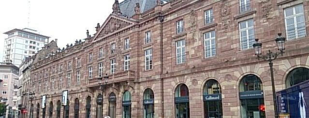 Les Boutiques de l'Aubette is one of Strasbourg.
