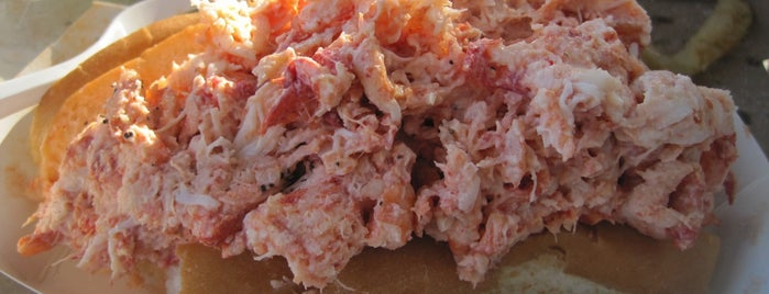 Howards Drive-in is one of Ultimate Summertime Lobster Rolls.