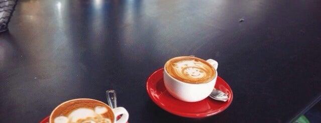 Elite Audio Coffee Bar is one of San Francisco Caffeine Crawl.
