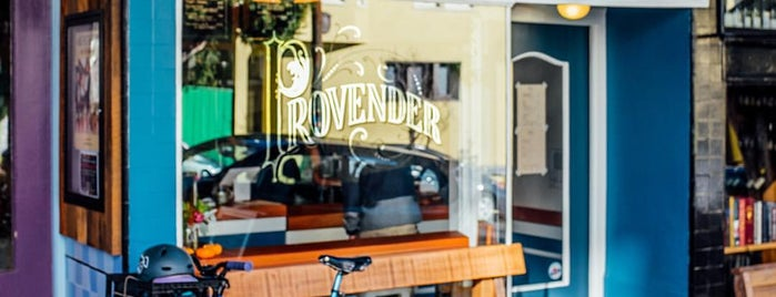 Provender Coffee is one of SF eats to try.