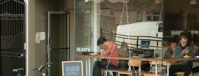 Hearth Coffee Roasters is one of Coffee shops in SF.