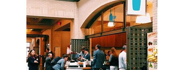 Blue Bottle Coffee is one of San Francisco Caffeine Crawl.