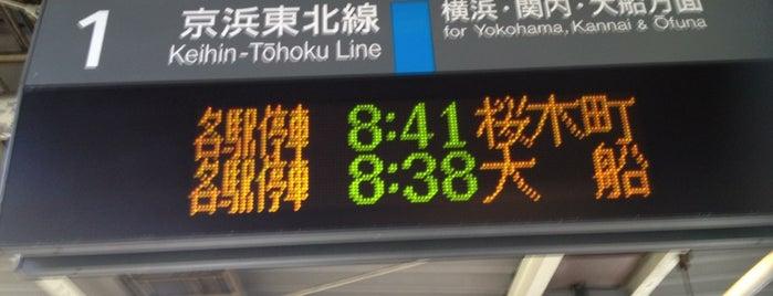 JR 京浜東北線 東神奈川駅 is one of Station - 神奈川県.