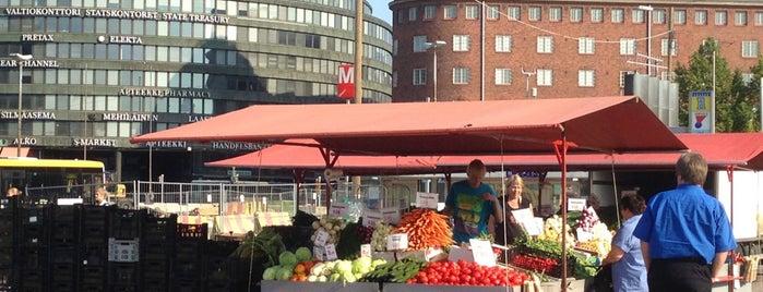 Hakaniemen tori is one of Visit Kallio: What to See & Do in Uptown Helsinki.