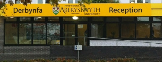 Aberystwyth University is one of Penglais Campus.