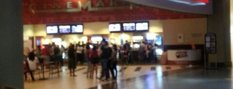 Cinemark is one of Lugares.
