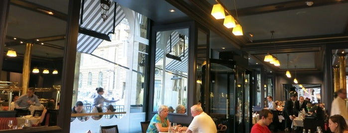 La Brasserie du Louvre is one of  Paris Eat .