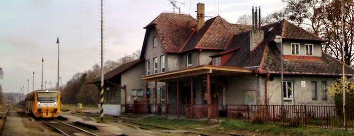 Železniční stanice Hlučín is one of Železniční stanice ČR: H (3/14).