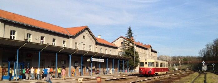 Železniční stanice Hrušovany nad Jevišovkou is one of Železniční stanice ČR: H (3/14).