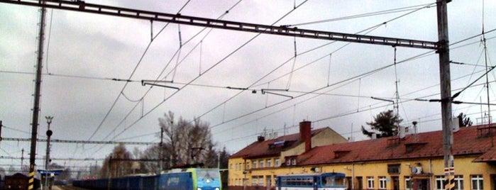Železniční stanice Petrovice u Karviné is one of Železniční stanice ČR: P (9/14).