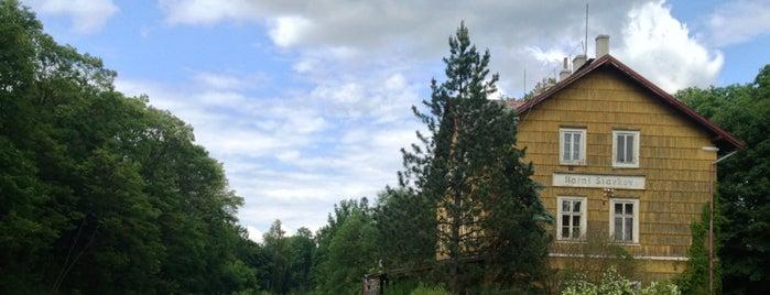 Železniční stanice Horní Slavkov is one of Železniční stanice ČR: H (3/14).