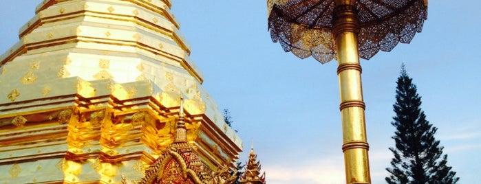 Wat Phrathat Doi Suthep is one of Chaing Mai (เชียงใหม่).