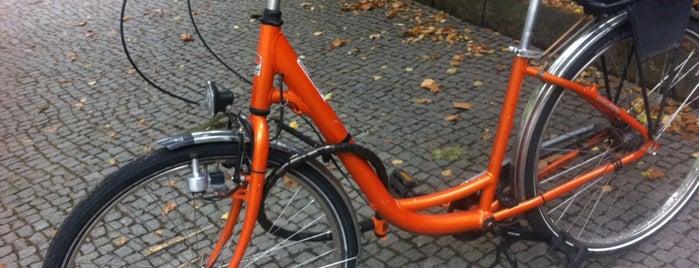 Prenzlberger Orange Bikes is one of Berlin.