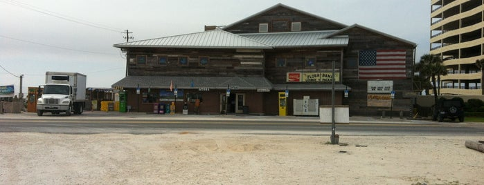 Flora-Bama Lounge, Package, and Oyster Bar is one of A locals list for ob and gulf shores.