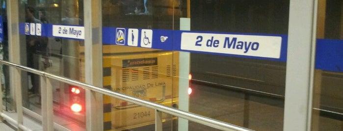 Estación 2 de Mayo - Metropolitano is one of lol.