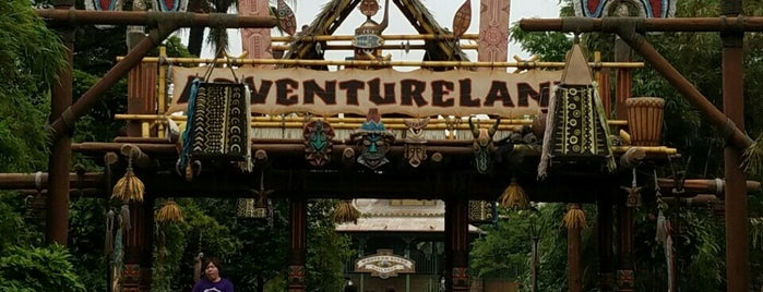 Adventure Land is one of Disney.