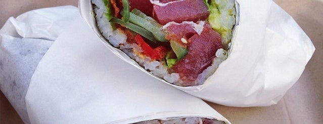 Sushirrito is one of SF.