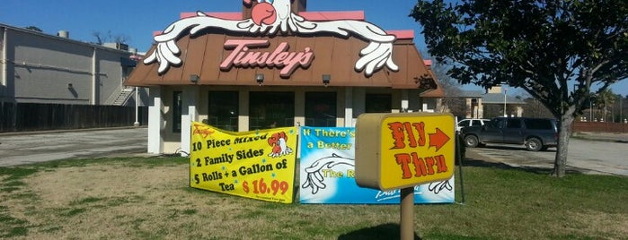Tinsley's Chicken n Rolls is one of Places to try.