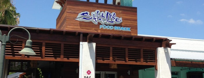 Salt Life Food Shack is one of Sushi favorites.