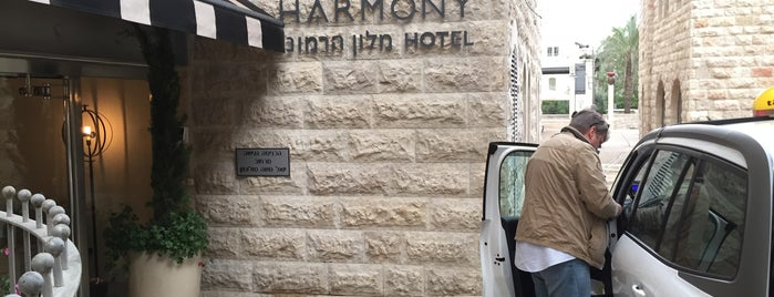 Harmony Hotel Jerusalem is one of Israel 👮.