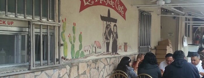 Manuel's Original El Tepeyac Cafe is one of California's Top 20 Burrito Places.
