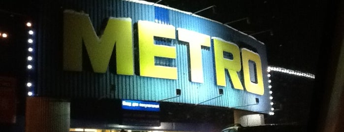Metro Cash & Carry is one of Novosibirsk TOP places.