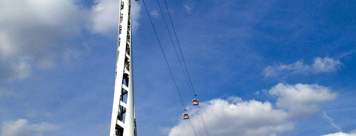 Emirates Air Line is one of 1000 Things To Do In London (pt 2).