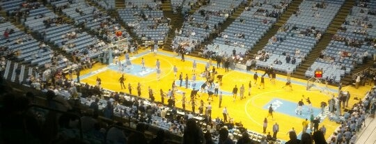 Dean E. Smith Center is one of Venues....
