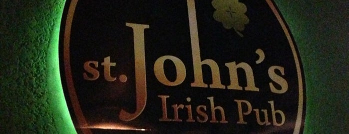 St. John's Irish Pub is one of Conhecer.