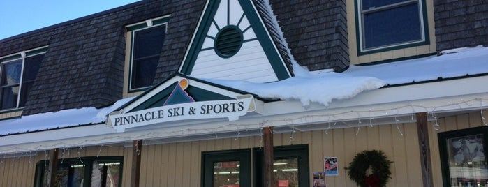 Pinnacle Ski & Sports is one of Stowe.