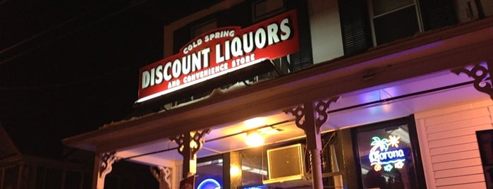 Cold Spring Discount Liquors is one of BTown spots.