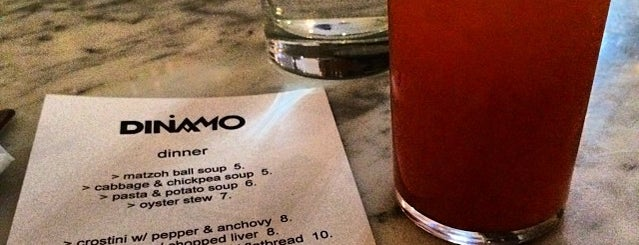 Dinamo is one of RIC mag's best new restaurants.