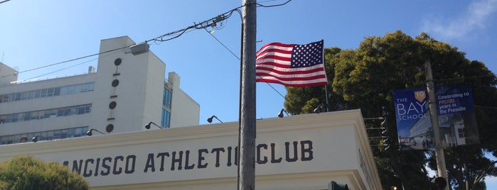 San Francisco Athletic Club is one of The San Franciscans: Happy Hour.