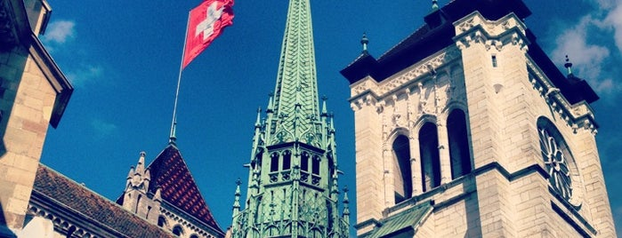 Cathédrale Saint-Pierre is one of Cool spots in Geneva.