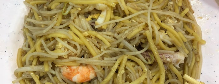 Hong Heng Fried Sotong Prawn Mee is one of Good Food Places: Hawker Food (Part I)!.