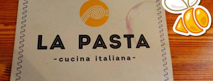 La Pasta is one of SPb Must see.
