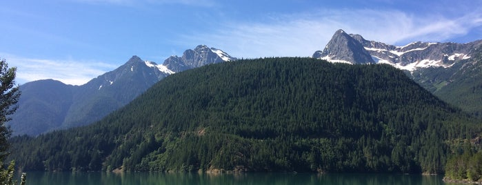 North Cascades National Park is one of U.S. National Parks.