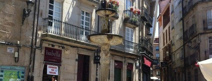 Praza do Ferro is one of Best of Ourense ❤.