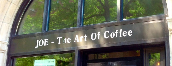 Joe The Art Of Coffee is one of Notable Coffee Shops (NYC).