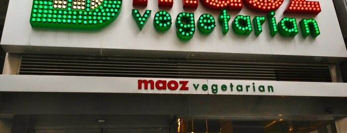 Maoz Vegetarian is one of NY.