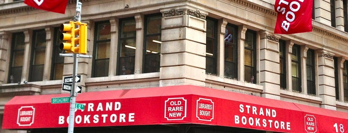 Strand Bookstore is one of NYC To-Do.