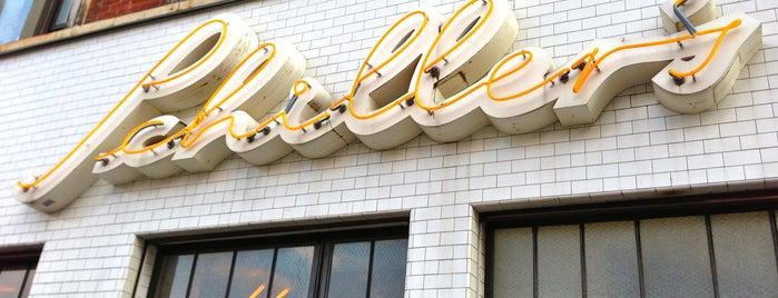 Schiller's Liquor Bar is one of New York City.